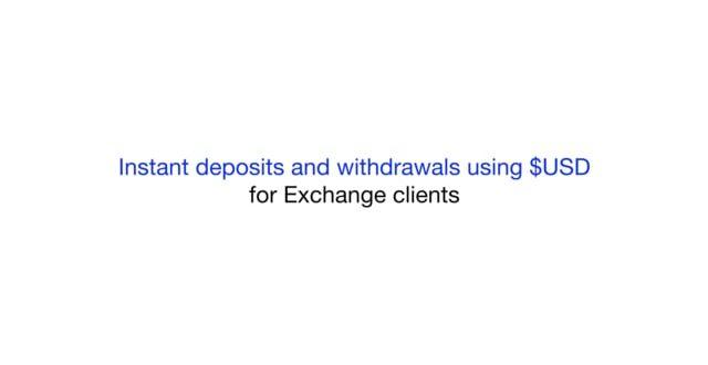 Новая опция на KuCoin реализует мгновенный ввод/вывод средств в долларах США